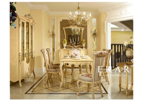 Luxury European Design Dining Room Furniture Set
