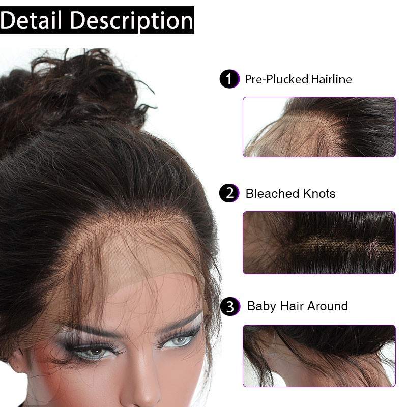 High Density 250 Deep Curly Human Wigs With Baby Hair For Black