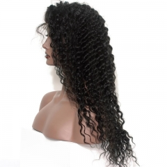 250% Density Wig Pre-Plucked Natural Hair Line Full Lace Human Hair Wigs Deep Wave Brazilian Lace Wigs