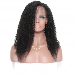 360 Lace Frontal Wigs 180% Density Kinky Curly Lace Front Human Hair Wigs Full Lace Human Hair Wigs