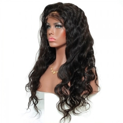 Full Lace Wig with Baby Hair 360 Lace Wigs Brazilian Human Hair Wigs Unprocessed Body Wave Human Hair Wig180% Density