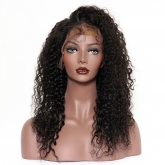 360 Lace Wigs 200% Density Full Lace Wigs Brazilian Hair Brazilian Curl Wave Human Hair Wigs