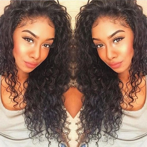 Natural Looking wigs Deep Wave Lace Front Human Hair Wigs Pre-Plucked Natural Hair Line 150% Density No Shedding No Tangle