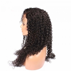 Best Lace Front Wigs Human Hair Brazilian Kinky Curly Natural Black Lace Wig with Natural Baby Hair Hidden Knots Pre Plucekd Natural Hair Line
