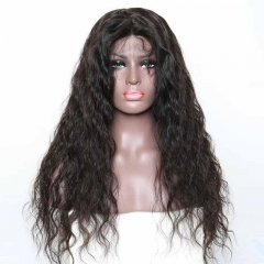 100 Human Hair Lace Front Wigs Top Grade Unprocessed Natural color Hair 180% Density Lace Wigs With Baby Hair