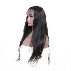 Cheapest Human Hair Wigs That Look Real Silk Base Full Lace Wigs Silky Straight Pre-Plucked Hairline 130% Density in stock