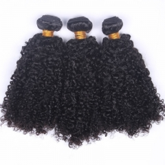 Brazilian Hair 3B3C Kinky Curly Virgin Hair 8A Curly Afro Weave Human Hair Extensions 3 Bundles Hair Products