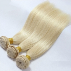 613 Honey Blonde Brazilian Hair Weave Human Hair Straight 3PC/Lot Non Remy Hair Bundles