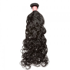 Brazilian Virgin Human Hair 1 Pcs Water Wave Brazilian Hair Weave Bundles 8A  Beauty Hair Products Human Hair Extensions