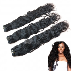 3Pcs Lot Grade 8A Wet And Wavy Virgin Brazilian Hair Natural Wave 3 Bundles Natural Hair Color