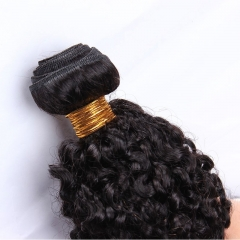 Best Kinky Curly Brazilian Virgin Hair 1 Pcs Brazilian Hair Weave Bundles 8A Honey Beauty Hair Products Curly Human Hair Extensions
