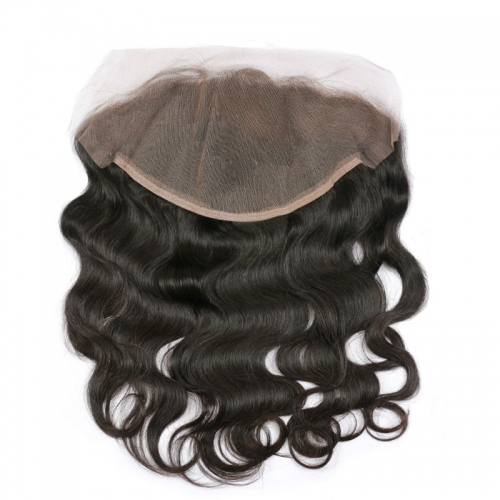 8A 13X6 Lace Frontal Closure Ear To Ear Lace Frontal Body Wave with Baby Hair Peruvian Unprocessed Human hair in stock