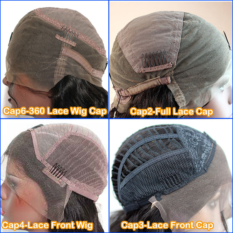 2d70772a067 Cap2-Full Lace Cap with Stretch in Crown Can Be Adjusted Have Combs and  Straps.