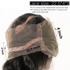 360 Lace Frontal Closure Kinky Straight Pre Plucked Honey Queen Brazilian Remy Human Hair Bleached Knots