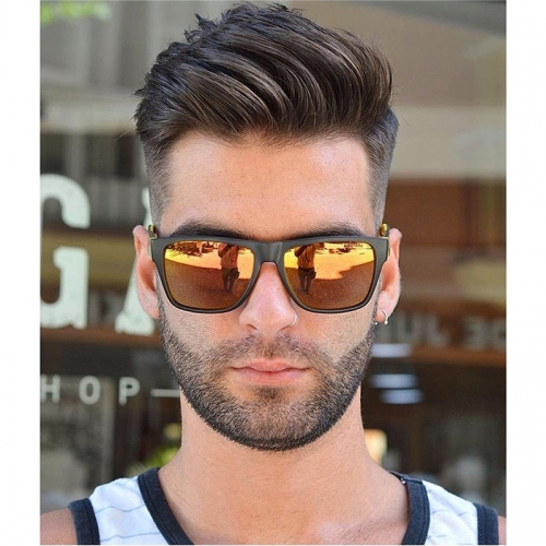 Men's Toupee Human Hair Hairpieces for Men 10×8 inch Thin Skin Hair Replacement System Monofilament Net Base (#4)