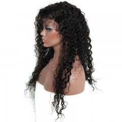 300% Density Curly Lace Front Human Hair Wigs For Black Women Pre Plucked Brazilian Remy Hair Honey Queen Bleached Knots