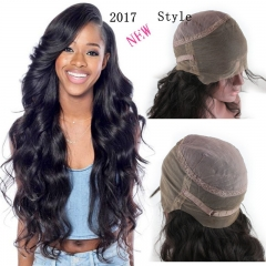360 Lace Wig New style 130% 150% 180% High Density 10A Brazilian Human Hair Wigs Body Wave Free Part Wig with Baby Hair for Women