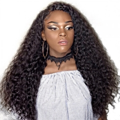 Full Lace Human Hair Wigs For Black Women 130% Density Pre Plucked Brazilian Curly Remy Hair Honey Queen