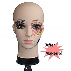 Soft Viny Mannequin Head for Make Up and Massage and Wig Making