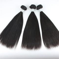 Cheap Virgin Brazilian Human hair extension Straight 22+24+26+28in Stock