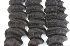 Cheap Hair Extension Hairdo Bundles of Hair Deep Wave Brazilian Hair Weave Style
