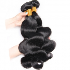 Good Quality Brazilian Cheap Remy Human Hair 3 Bundles Boby Wave 24+26+28 in Stock