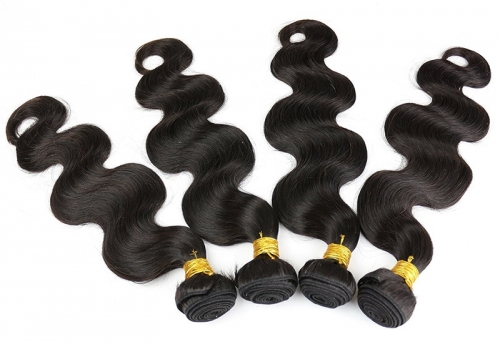 Body Wave Cheap Bundles of Hair Extensions for Sale Brazilian Remy Hair Weft 3.5oz/pc 1B