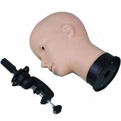Soft Viny Manikin Head Multi-purpose with C clamp