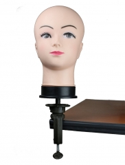 Cosmetology Display Head Wig Stand Head Bald Female Mannequin (1pc Mannequin Head)