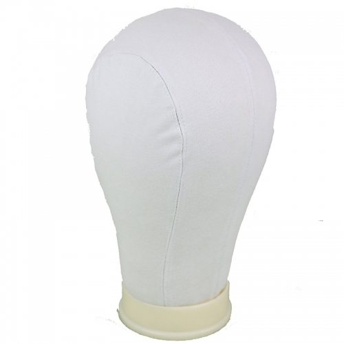 Mannequin Canvas Head for Making Wig 3Sizes (Large-23.5inch)