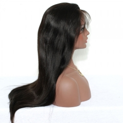Lace Front Human Hair Wigs 250% Density Full Lace Human Hair Wigs For Black Women 8A Silky Straight