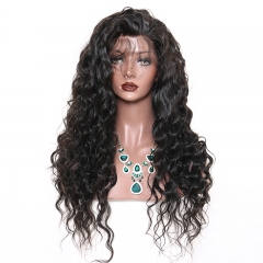 Glueless Full Lace Wig Malaysian Loose Wave Full Lace Human Hair Wigs