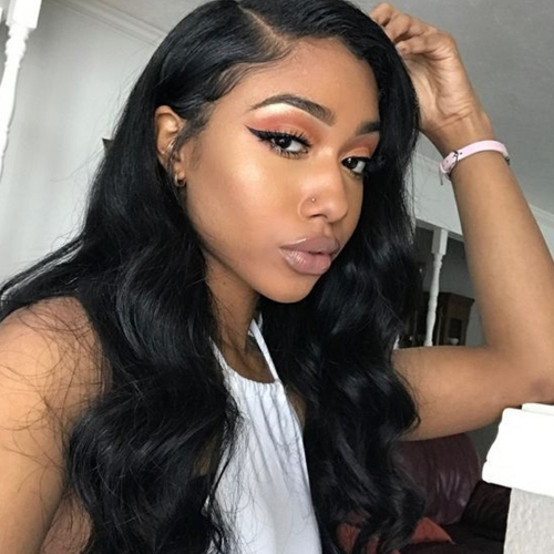 Pre Plucked 13x6inch Deep Part 150% Density Body Wave Lace Front Human Hair Wigs With Baby Hair For Black Women Brazilian Remy Hair Wigs