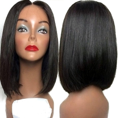 13x6 Lace Front Wig Short Bob Wigs for Black Women Full Lace Front Wigs Silky Straight Virgin Human Hair Bob Short Pixie Cut Wig