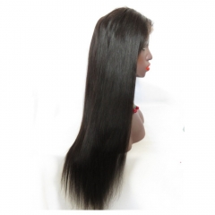8A Brazilian Virgin 13x6 Lace Front Wigs Human hair Glueless Pre plucked Natural Hairline Straight Front Lace Wigs With Baby Hair