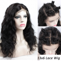 Brazilian Virgin Remy Human Hair 13x6 Lace Front Wigs with Baby Hair Glueless Body Wave Lace Wigs for Black Women