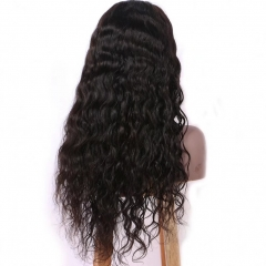 Pre Plucked Wavy Human Hair Wigs for Black Women 13X6 Deep Part Lace Front Virgin Brazilian Hair Wigs with Baby Hair Pre Plucked Full Lace Wigs