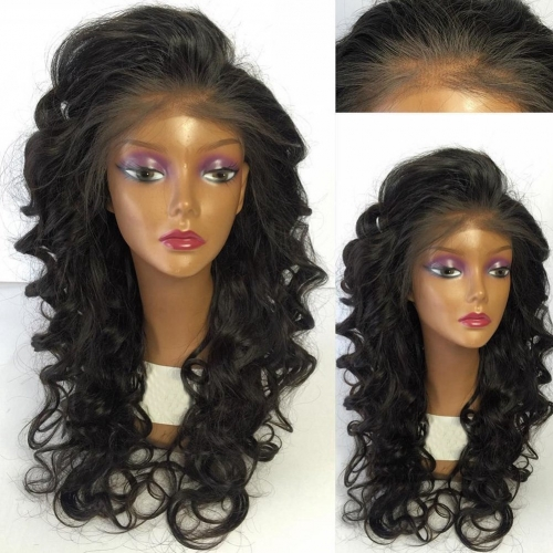 Pre Plucked 13x6 Lace Front Human Hair Wigs 150% Density Loose Wave Brazilian Human Hair Glueless Lace Front Wigs Human Hair
