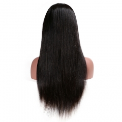 Natural Straight 180% Density Lace Front Wigs for Black Women Full Lace Human Hair Wavy Wigs