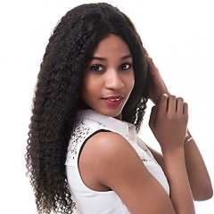 150% Density 13x6 Lace Front Human Hair Wigs for Black Women Pre Plucked Raw Raw Remy Hair Kinky Curly Full Lace Front Wigs
