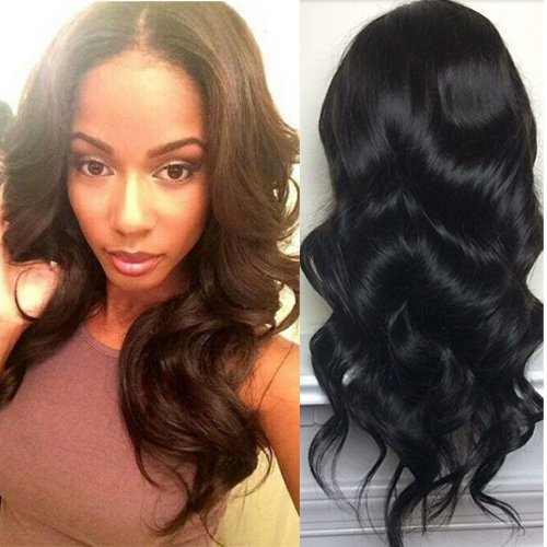 Human Hair U Part Wigs 130% Density Body Wave U Part Human Hair Wigs Natural Color