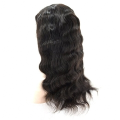 Brazilian Body Wave Remy U Part Wig With Baby Hair 100% Human Hair Natural Black Color For Women