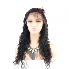 High Quality Human Hair  Full Lace Wigs Fashion Deep Wave 180%Density Wigs With Baby Hair Pre-Plucked Natural Hair Line