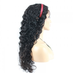 High Quality Human Hair  Full Lace Wigs Fashion Deep Wave 150%Density Wigs With Baby Hair Pre-Plucked Natural Hair Line