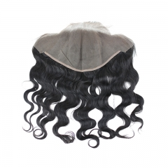 Pre Plucked Lace Frontal Closure With Natural Baby Hair Body Wave  Virgin Human Hair Frontals