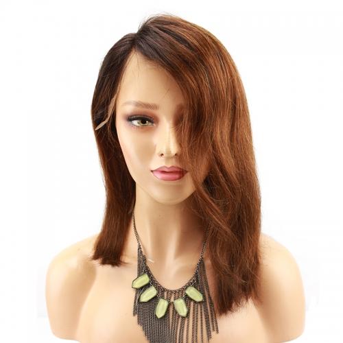 1B 30 Lace Front Human Hair Wigs With Baby Hair Glueless Pre Plucked Short Bob Wig For Women Malaysian Human Hair Wig
