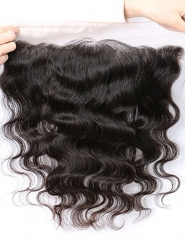 Body Wave 13x4 Ear To Ear Full Silk Base Lace Frontal Closures Virgin Brazilian Human Hair