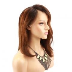 1B 30 Lace Front Human Hair Wigs With Baby Hair Glueless Pre Plucked Short Bob Wig For Women Malaysian Virgin Human Hair Wig