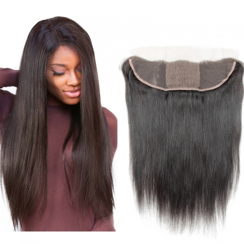 Silk Base Lace Lace Frontal Closures Silky Straight Brazilian Frontals Pre Plucked With Baby Hair