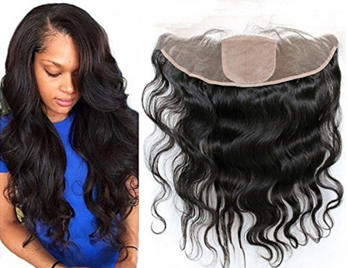 Body Wave 13x4 Ear To Ear Full Silk Base Lace Frontal Closures Brazilian Human Hair